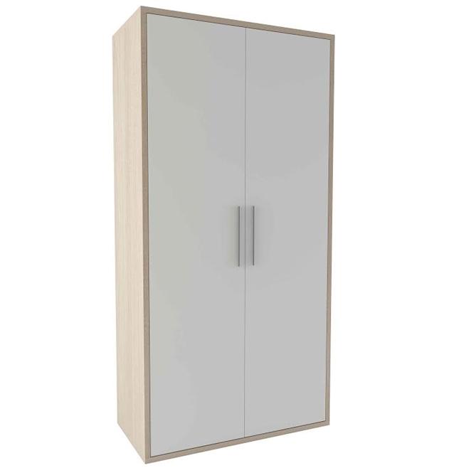Armario 2 puertas abatibles 50x100x200cm - Armarios puertas abatibles ...