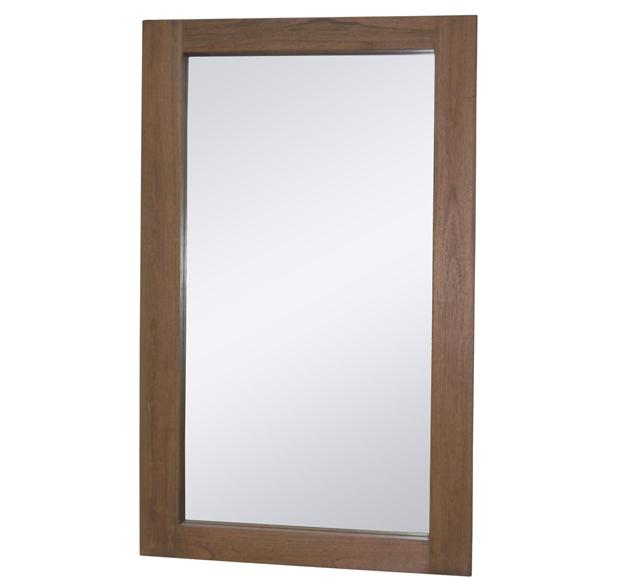 Espejo amara en madera de mindi 3 x 130 x 80 cm for Espejo 140 x 80