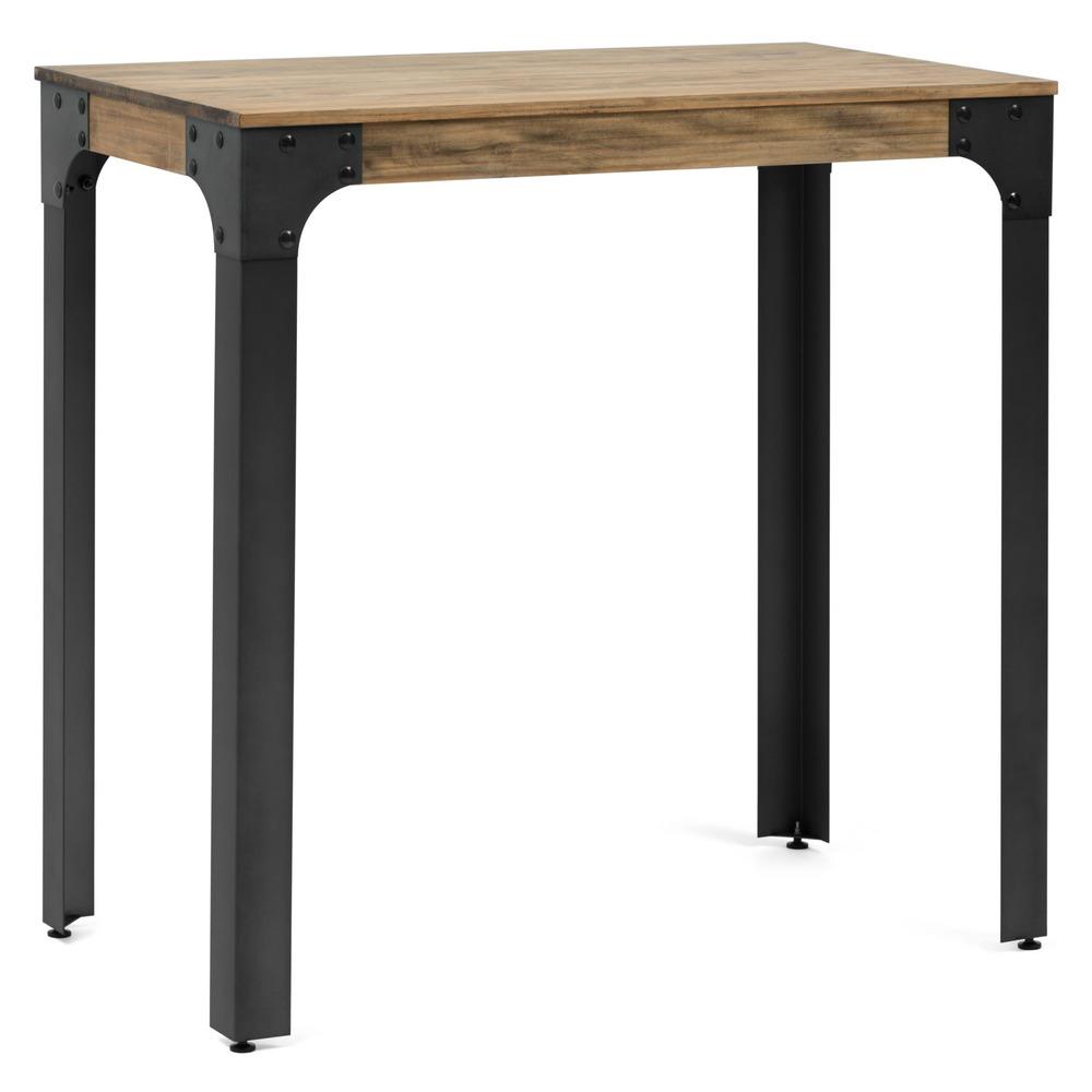 Mesa alta para cocina finest taylor mesa alta plegable for Mesa alta comedor